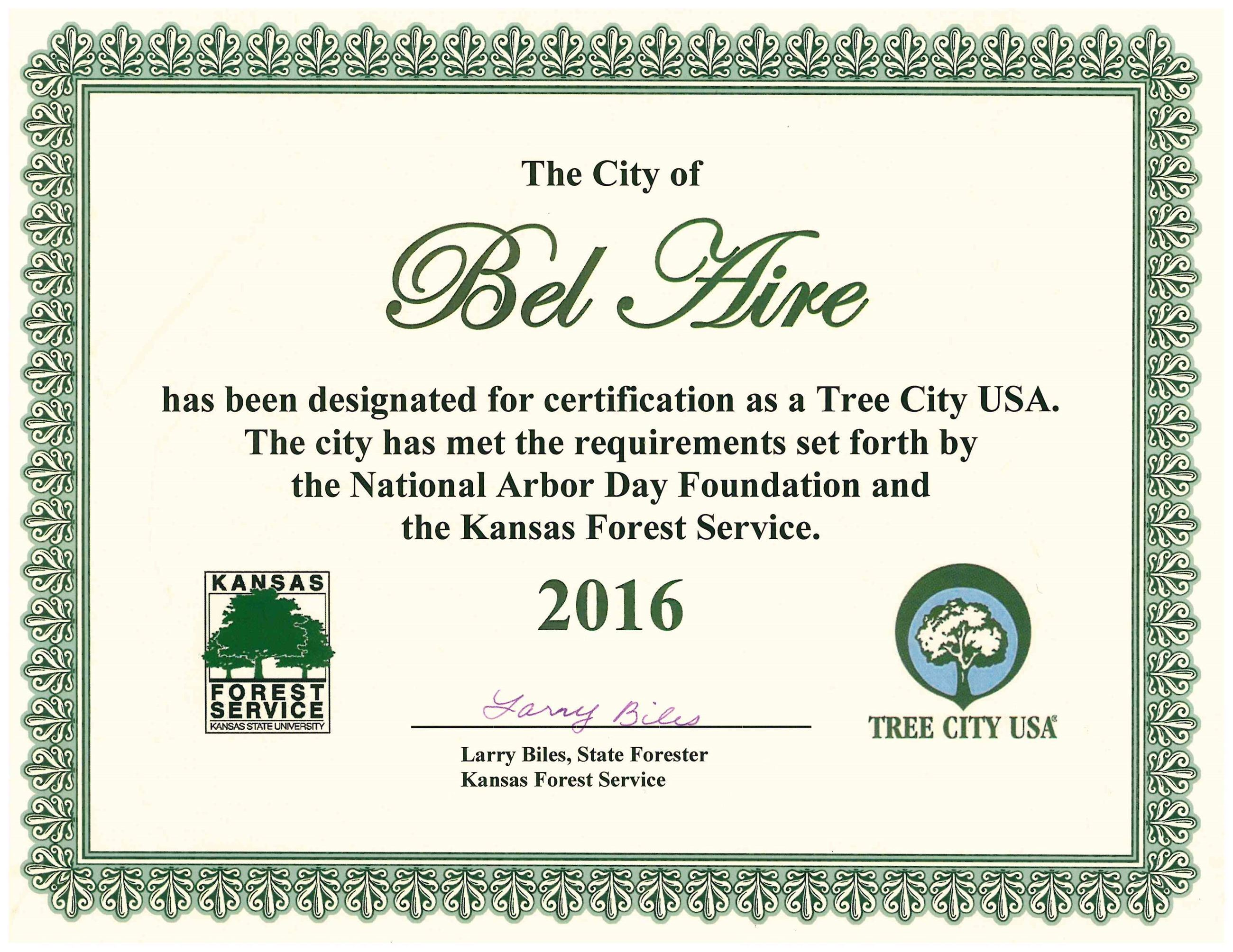 Tree City USA 2016
