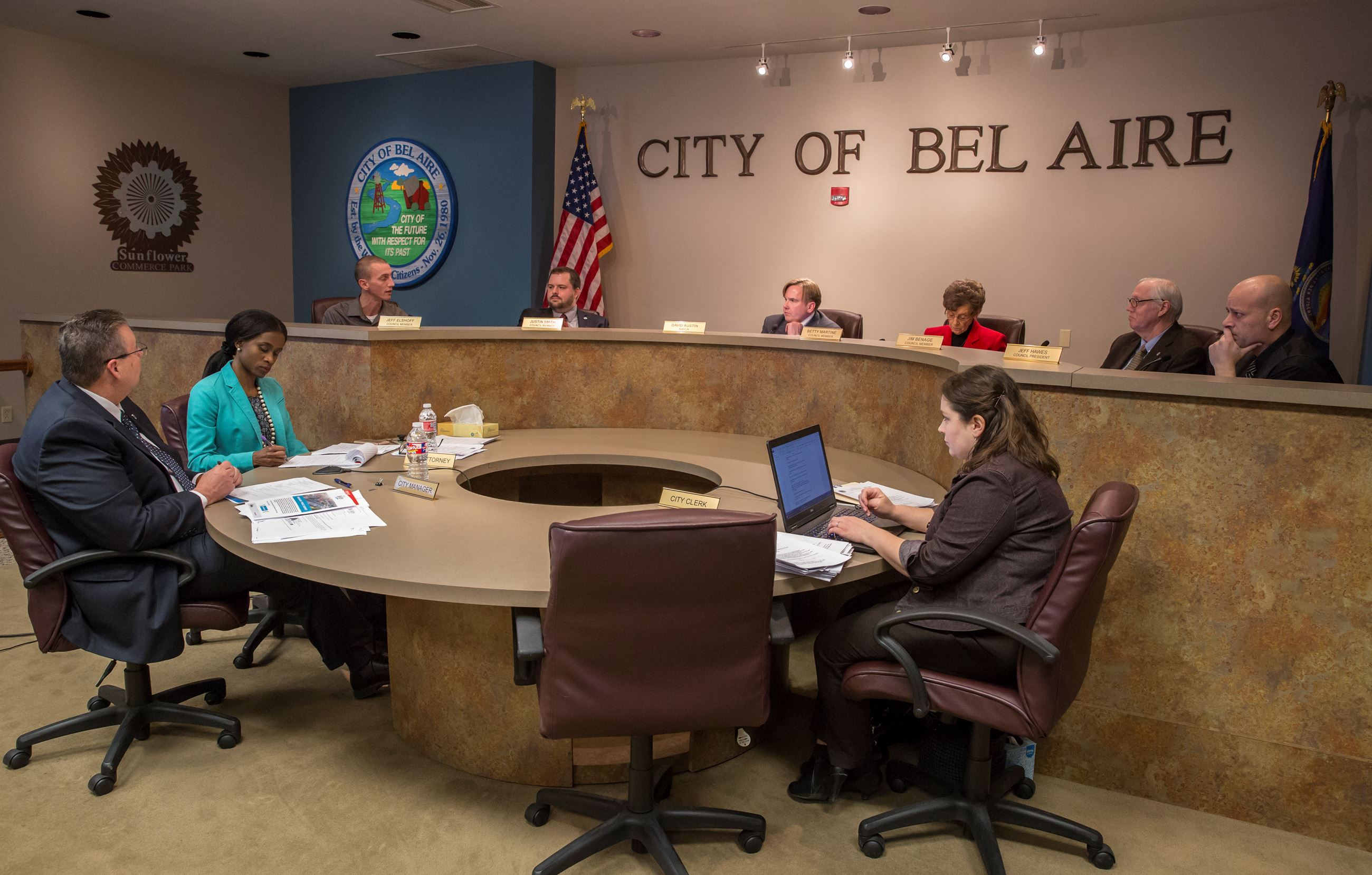 Council Meeting - About Us